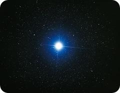 Sirius fotografado da Terra