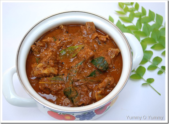 Nadan Mutton Curry / Kerala Mutton Curry