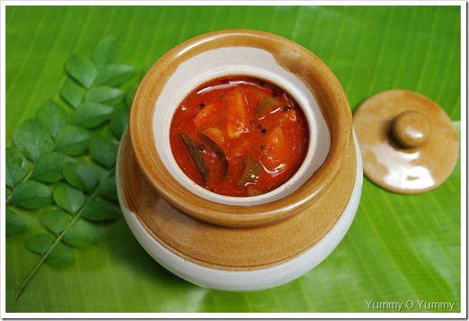 Vadukapuli naranga curry