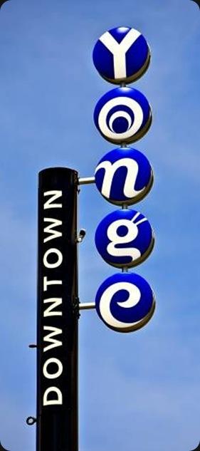 sign yonge street