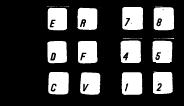 Alt+E,D,C,R,F,V