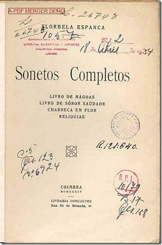 Florbela Espanca: Sonetos Completos