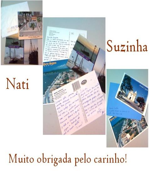Nati e Suzinha, muito obrigada pelo carinho!!