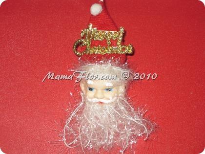 Colgantes de Papá Noel para el árbol