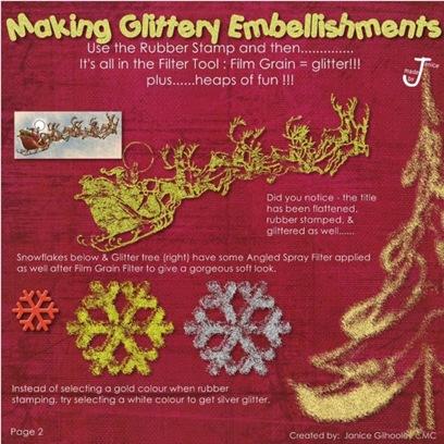 Glitter embillishments 2