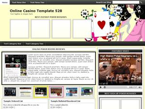 Online Casino Template 528