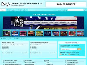 Online Casino Template 530