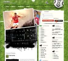 Football Wordpress Theme