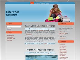 Wordpress Theme 20