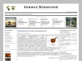 German-newspaper Free Wordpress Theme