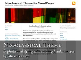 Neoclassical Free Wordpress Theme