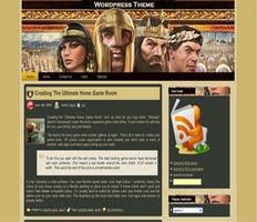 Free Wordpress Online Gaming Theme