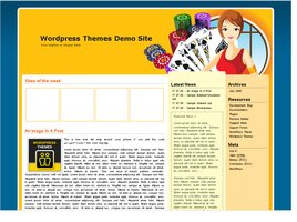 Online Casino Template 553