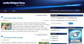 Free Wordpress Theme - BlueStroke