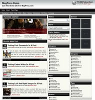 Free WordPress Theme - Magloss