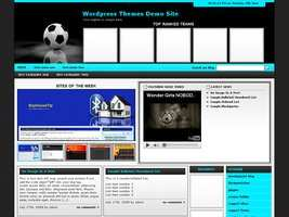Football Wordpress Theme 6