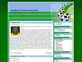 Football Wordpress Theme 8