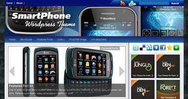 Free Wordpress Theme - SmartphoneMag
