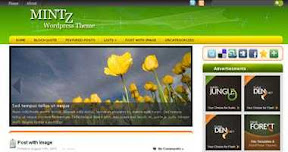 Free Wordpress Theme - Mintz