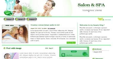 Free Wordpress Theme - BeautySpa