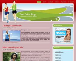 Running and Jogging WP Theme