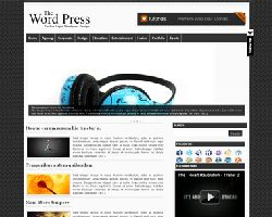 Wpress Magazine Style WordPress Theme