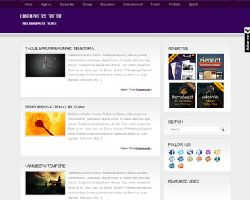 PurpleWP Magazine WordPress Theme
