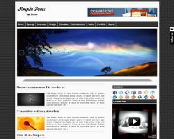 SimplePress Magazine WordPress Theme