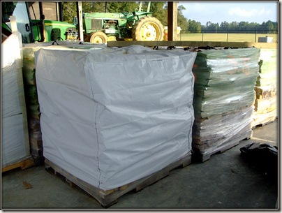 packaged wood covers