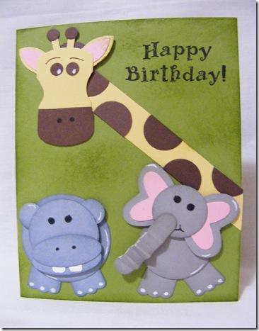 Peter VK 1st birthday card