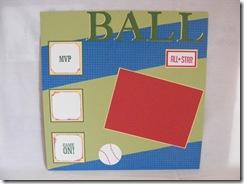baseball scrapbook pg 2