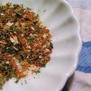 Dry Salad Seasoning Recipes