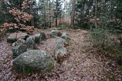 Hünengrab am Vorgeschichtsweg Seemoor
