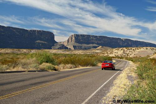 Santa Elena Canyon - we come, we see...