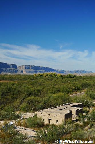 Not too far from Santa Elena Canyon