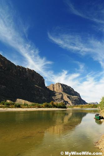 Rio Grande and Santa Elena Canyon