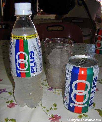 It is so refreshing with isotonic drinks