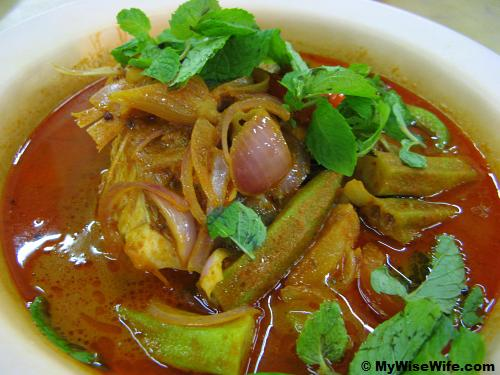 Aromatic Fish Head Curry