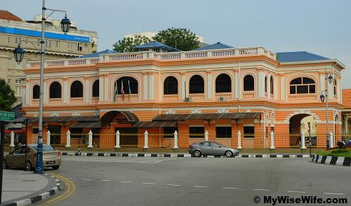 ImmigraImmigration Department of Penang at George Town