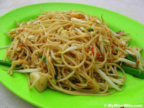 Fried Teochew Noodles with seafood