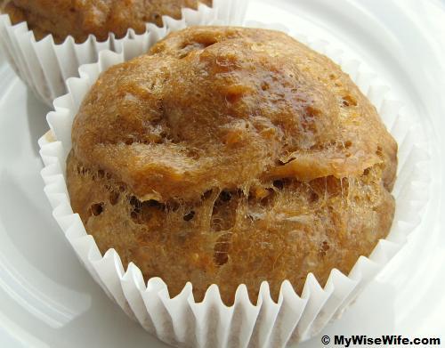 Brown sugar sweet potato bun