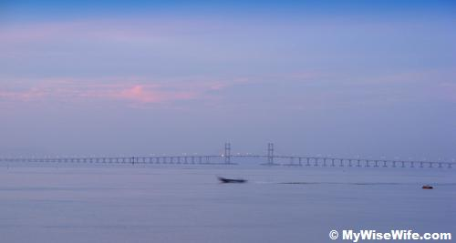 My best zoom of Penang Bridge
