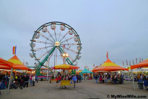 Ferris wheel - a tradition in every fun fair