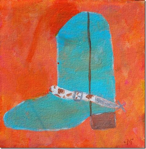 Maddie's boot