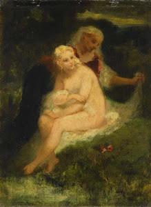 RIJKS: Narcisse Virgile Diaz de la Peña: painting 1876