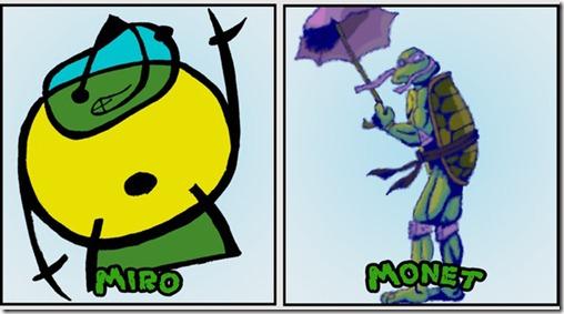 ninja turtles as classical art3