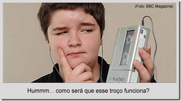choque de cultura - iPod x walkman
