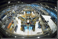 Assembly plant to aircraft F-22A