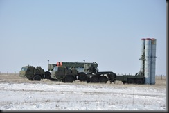 S-400 air defense system missile launchers