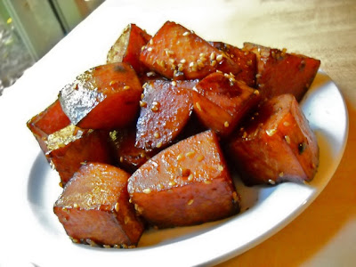 Teriyaki Sweet Potatoes